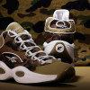 BAPE x mita sneakers x Reebok Question Mid 1st Camo