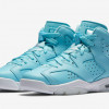 Air Jordan 6 GS Still Blue Release