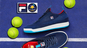 new style 07a9d 10434 FILA and the BNP Paribas Open Serve Up a Limited-Edition Footwear  Collaboration