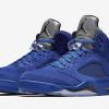 Air Jordan 5 Blue Suede Releases Soon