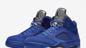 Air Jordan 5 Blue Suede Releases Soon