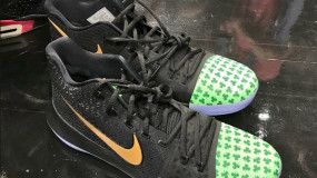 Kyrie Debuts Nike Signature Shoe Against the Cavs