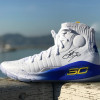 #DroneDrop: Under Armour Drops Autographed Curry 4 Pairs to Dub Nation