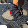 The Levi's x Air Jordan 4 Denim