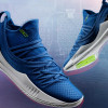 UA Releases New Curry 5 Colorway Inspired by Warriors' Uniforms