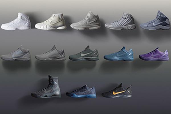 cheaper 691d7 44c1b Nike Bids Kobe Farewell With the Black Mamba Pack