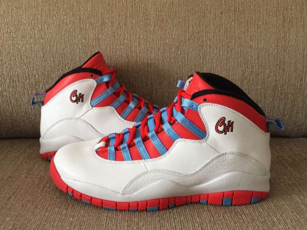 38a1a029536 Air Jordan 10 Chicago Flag to Release in May