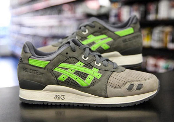 Asics gel Lyte super green