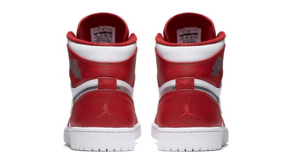 air Jordan 1 retro high silver metal