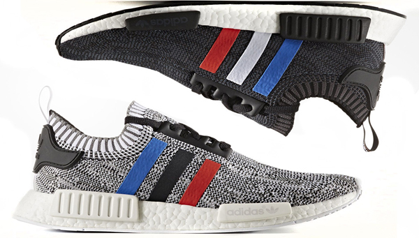 Adidas Nmd R1 Primeknit Tri Color Pack Thd Kicks