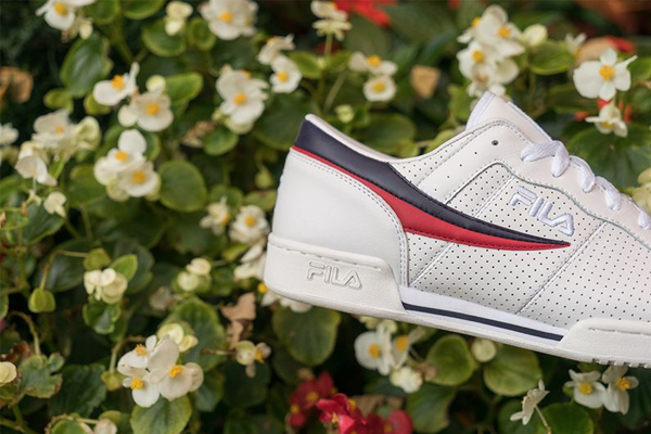 official photos d09c3 3bb95 FILA s Annual Tradition Pack Features Perforation on Classic Styles