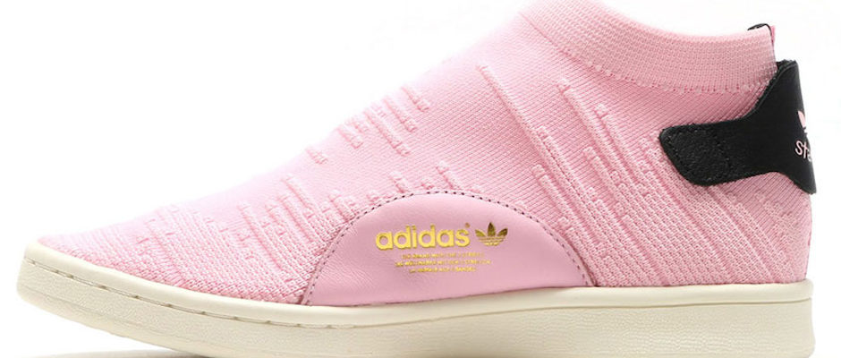 Adidas Stan Smith Sock Primeknit Releasing In Pink