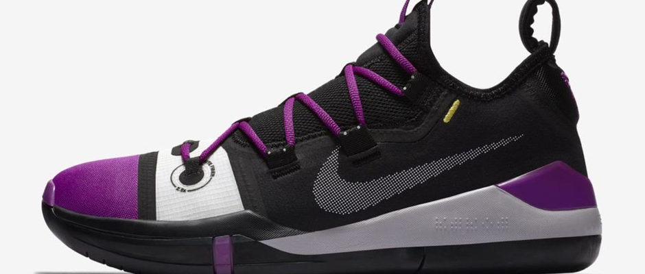 Kobe Bryant's Latest Signature Shoe Gets the Lakers Treatment