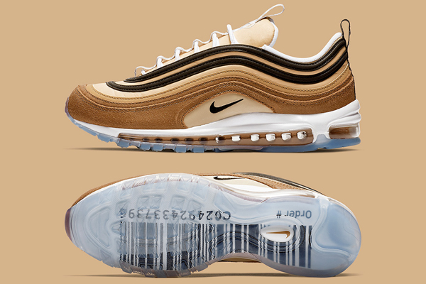 Nike Leather Wmns Air Max 97 Bv6113 600 Trainers in Black